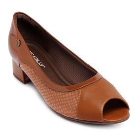 84f6c047a7 Peep Toe Marrom - Sapatos no Mercado Livre Brasil