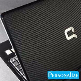 Adesivo Skin Para Notebook Compaq 14,15e 16 Fibra De Carbono