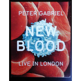 Venta Remate. Blu Ray Original. Peter Gabriel New Blood