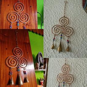 Llamador De Ángeles, Carrillon Hindu.campana Viento Trisquel