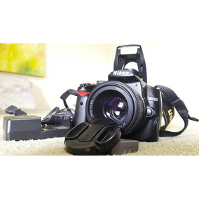 Camera D5000 Com Lente 50mm