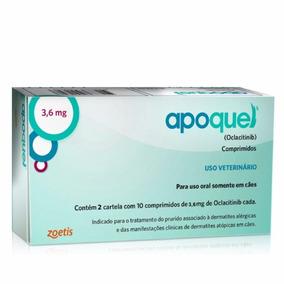 Apoquel 3,6 Caes Zoetis 20 Comprimidos - 1 Caixa