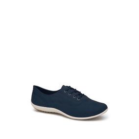 Udt Zapatos Flat Oxford Casual Azul Andrea Dama Tex I76704 7022aef3f49d5
