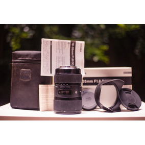 Lente Sigma Art 18-35mm 1.8 Canon