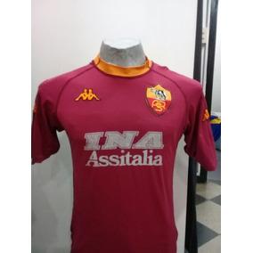 Camiseta De La Roma La Blanca - Camiseta del Roma para Adultos en ... a38481dd79861