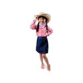 Camisa Tipo Vaquera Para Niña Talla 10 A La 16