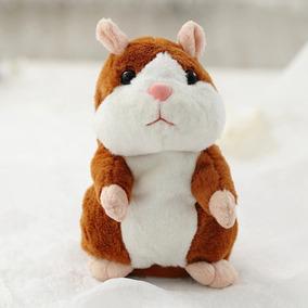 Talking Hamster Brinquedo De Pelúcia - Repete Tudo Que Ouve