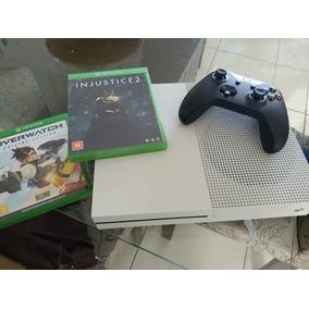 Xbox One S 500gb Seminovo + 2 Jogos