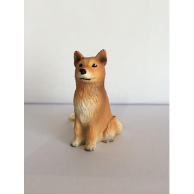 Cachorro Splitz Chaveiro Importado Japonês Miniatura Cães