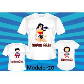 d91d67355b Camiseta Mãe Maravilha Camisetas - Camisetas e Blusas no Mercado ...