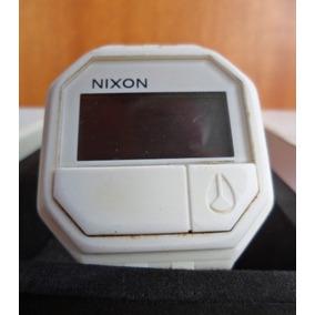Sucata Relógio Nixon Rubber Re Run Preço Da Caixa Visor Ruim