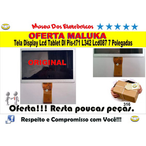 Tela Display Lcd Tablet Dl Pis-t71 L342 Lcd087 7 Polegadas