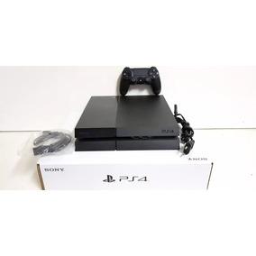 Playstation 4 Slim 500gb (ps4 Seminovo + 3 Jogos)
