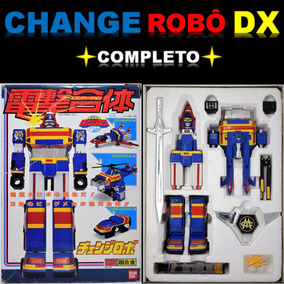 Change Robo Dx Changeman ( Jaspion Winspector Power Rangers