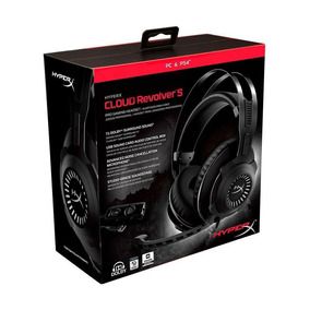 Headset Hyperx Cloud Revolver S 7.1 Dolby Digital Pc E Ps4