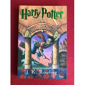 Livro - Harry Potter E A Pedra Filosofal - J. K. Rowling