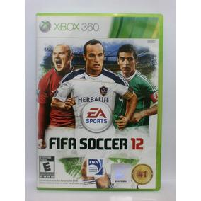 Fifa Soccer 12 Jogo Xbox 360 Usado Mídia Física