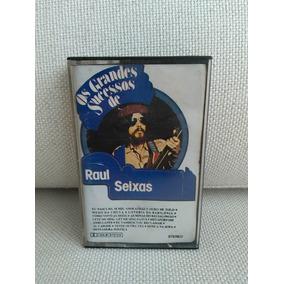 Fita K7 Cassete Os Grandes Sucessos De Raul Seixas Original