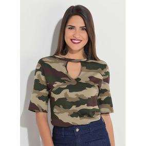 Camisetas e Blusas Tamanho Xxg para Feminino no Mercado Livre Brasil 8da51510c0b1f