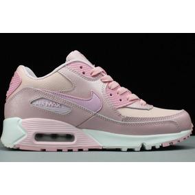 zapatillas air max mujer rosas