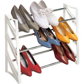 Organizador De Zapatos 9 Pares, Doble Posicion Novedad