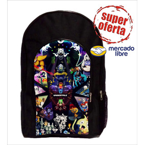 Mochila De Undertale Reforzada Roblox Fortnite Mario Bros ++