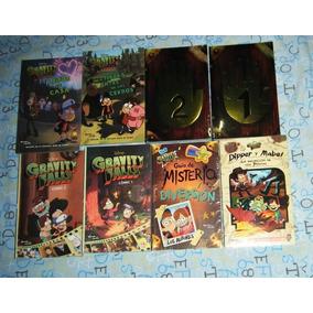 8 Libros Gravity Falls Diario 1 Y 2 Luz Uv Con Tinta Invisib