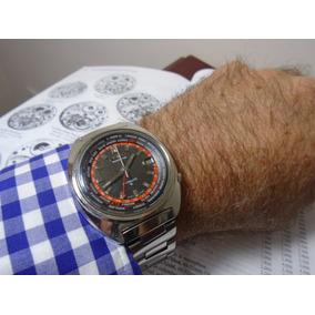 b2a1e928339 Relogio Seiko Antigo World Time - Relógios no Mercado Livre Brasil