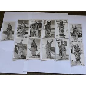 Cartão Postal Congonhas Do Campo Minas Esculturas Profetas