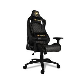 Silla Cougar Gamer Armor S Royal, Negro, 120kg, Reclinable
