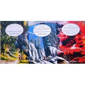 Livro Senhor Do Anéis- Vol. 1,2,3. J.r.r. Tolken