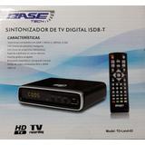 Caja Para Recibir Señal De Tv Digital Con Antena De Aire