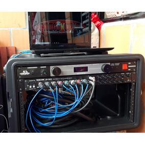 Placa De Áudio Com Rack Sem Os Cabos Sorte Placa De Áudio 16