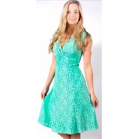 6a04c605d Vestido De Encaje Marca Nicopoly Mujer Cortos - Vestidos en Mercado ...