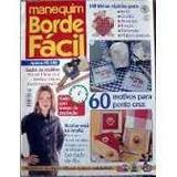 Revista Manequim Borde Fácil Nº 2 - Frete Gratis