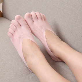 Calcetines Invisibles Con Cubre Dedos Yoga Fingers Tin Guant