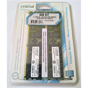 Memoria Ram Crucial 4gb (2x2gb) Pc3200 Ddr-400mhz 184pines