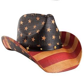 Bandera Grinderpunch Americano Clásico Sombrero De Vaquero 0249f49e2ef