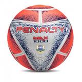 Bola Futsal Penalty Max 1000 Termotec - Branca/coral/azul