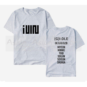 Camiseta Ou Baby Look K-pop Camisa (g)i-dle Integrantes Idle 968bb49a8bbf1