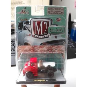 Miniatura M2 Machines Caminhão Dodge Coe 1957 1/64 Loose