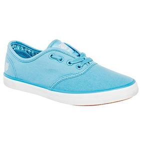 Tenis K.swiss Beverly 9f033-030 Color Azul Dama Pv
