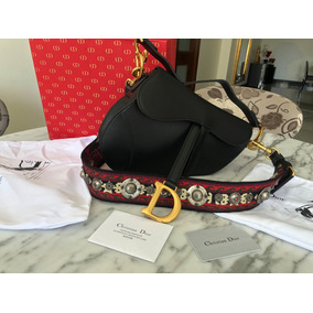 Bolsa Dior Saddle Original 100% Autentica Alça Extra