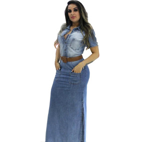 Roupas Femininas Vestido Longo Moda Evangélica Ref.0030