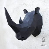 Rinoceronte De Papercraft