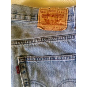 Jeans Levis 550/34/30 Relaxed Fit Original Con Bordados
