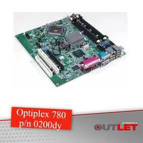 Placa Mãe Dell Optiplex 780 0200dy 200dy Ddr3 Socket 775