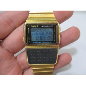 82282db571b Antigo Relogio Casio Data Bank - Relógios no Mercado Livre Brasil