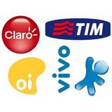 Recarga Celular Crédito Online Oi Claro Vivo Tim R$30
