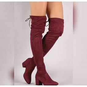 Hermosas Botas Largas Tacon Alto - Zapatos Mujer en Mercado Libre ... f3a007da9f4a9